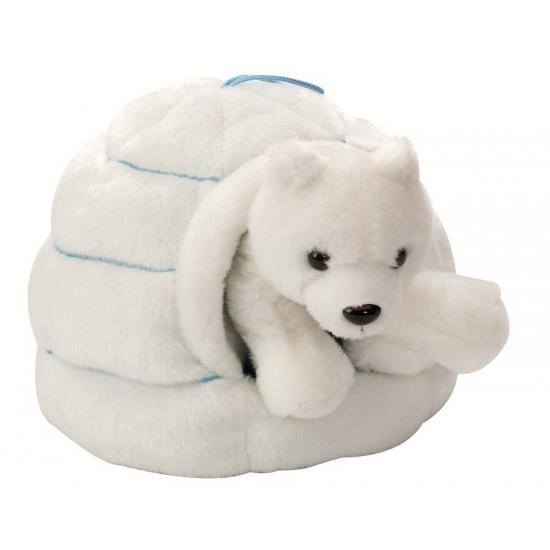 35be15f89044d5 Pluche ijsbeer in iglo knuffel , Pluche knuffels in de nummer 1 ...